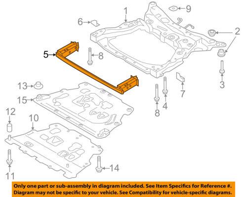 VOLVO OEM 16-18 XC90 Front Suspension-Front Brace 31387240