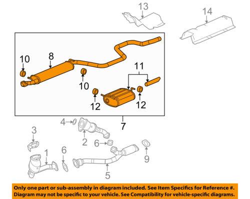 2008 Chevy Malibu Exhaust System Diagram