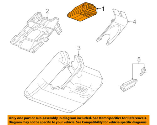 Cadillac GM OEM 10-14 CTS Electrical-Backup Camera 22922659