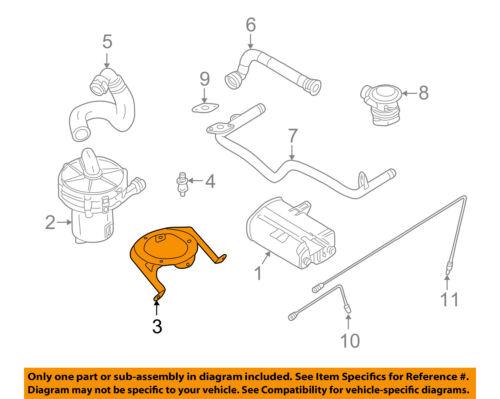 Brand New Air Pump Check Valve Gasket #11-72-7-505-259 fits 00-06 BMW X5 4.4L-V8