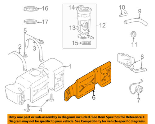 dodge ram 1500 fuel system diagram dodge chrysler oem ram 1500 fuel system fuel gas tank heat shield  dodge chrysler oem ram 1500 fuel system