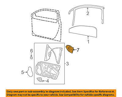 VW VOLKSWAGEN OEM 08-10 Passat-Power Window Motor Right 1K0959702AEZ01