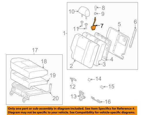 TOYOTA Genuine 71071-1N561-E0 Seat Cushion Cover