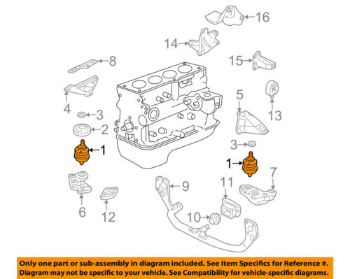 Details About VW VOLKSWAGEN OEM 98 05 Passat Engine Mount Side Left 8D0199379AQ
