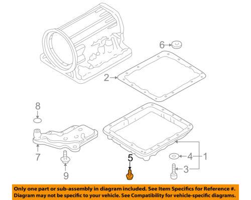 nissan oem transmission pan bolt 3137741x06 ebaydetails about nissan oem transmission pan bolt 3137741x06