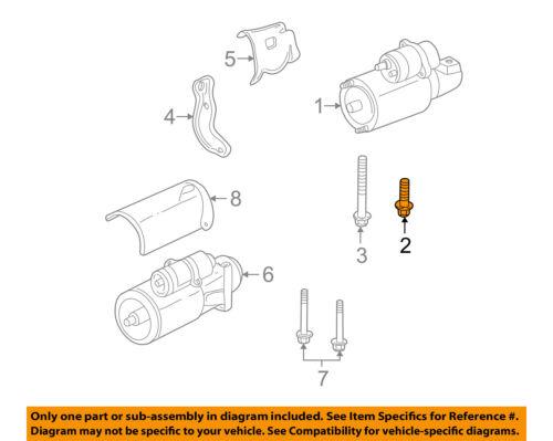Details about GM OEM-Starter Bolt 14001842