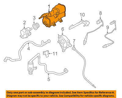 BMW OEM 13-15 X1-Vapor Canister Fuel Gas Emission 16137339355