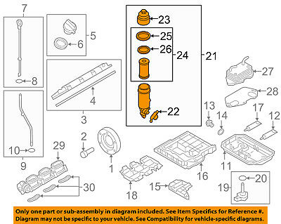 AUDI OEM 05-15 A6 Quattro Engine-Oil Filter Housing 06E115405K