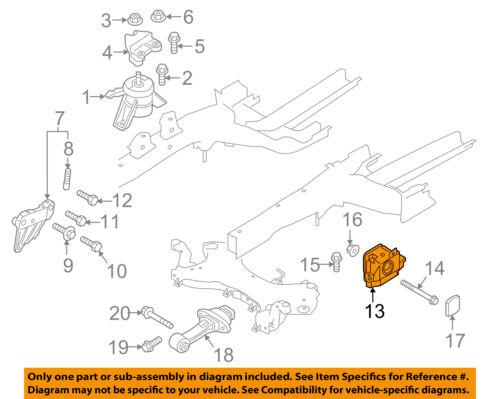 details about kia oem 16 18 optima transmission mount 21830d4100 2006 Kia Sorento LX Transmission Diagram