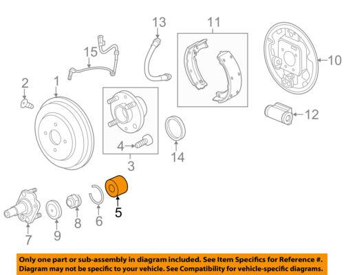 Chevrolet GM OEM 13-15 Spark Rear-Wheel Bearings 94535214
