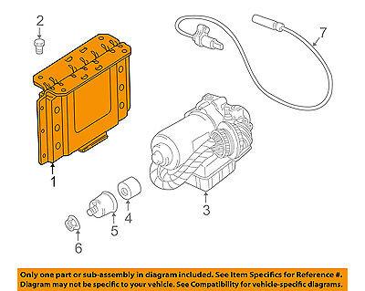 BMW OEM 2002 Z3 ABS Anti-Lock Brake System-Motor & Pump 34512229827