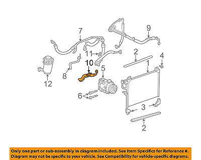 GM OEM A/C AC Condenser/Compressor/Line-Inlet Pipe 15113349