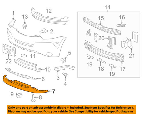Chevrolet GM OEM 14-16 Impala Front Bumper Grille-Lower Deflector Right 22990244