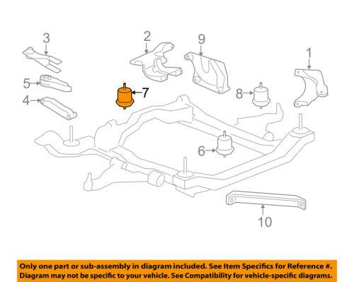 GM OEM-Engine Motor Mount Torque Strut 25840450