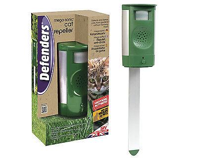 STV Mega Sonic Cat Repeller With Adaptor Pest Control Repellent