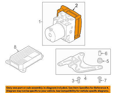 BMW OEM 13-16 M5 ABS Anti-Lock Brake System-Repair Kit 34527845674 Anti Lock Brake Repair