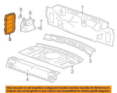 GM OEM Rear Body-Pressure Vent 13502349