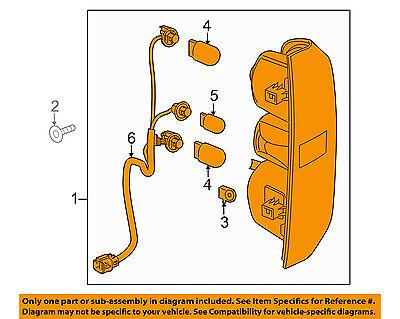 GM OEM-Taillight Tail Light Lamp Assy Left 23283790