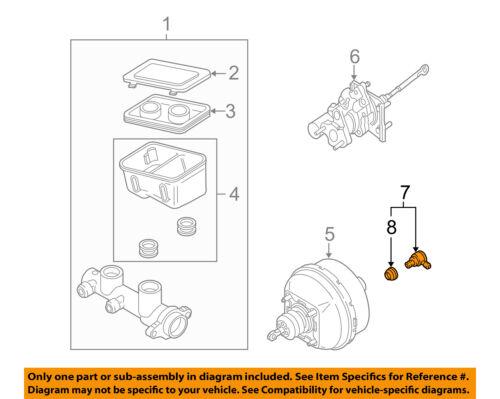 ACDelco GM Original Equipment 25873576 Power Brake Booster Check Valve