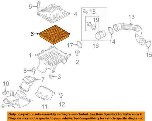Buick GM OEM 12-13 Regal Engine-Air Filter Element 13319421   eBayeBay