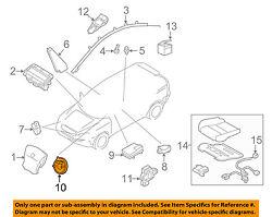 VOLVO OEM 11-15 XC70 Airbag Air Bag-Clockspring Clock Spring 31343218