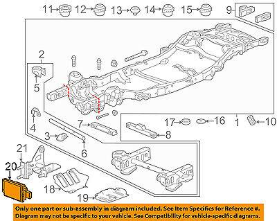 GM OEM Lane Departure Warning-Control Module 13442495