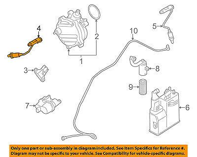 BMW OEM 08-16 X6-Oxygen O2 Sensor 11787576673