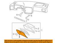 Honda Genuine 77500-S01-A01ZC Glove Box Assembly