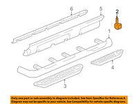GM OEM Running Board Step-Insert Left 22922426
