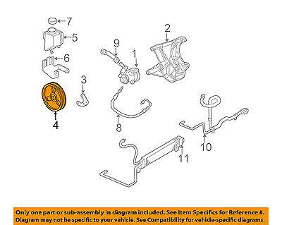Chevrolet GM OEM 97-04 Corvette Pump Steering Pump-Pulley 12559890