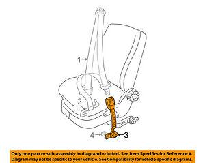 VW VOLKSWAGEN OEM 02-09 Beetle Front Seat Belt-Buckle Left 1Y1858471GFCN