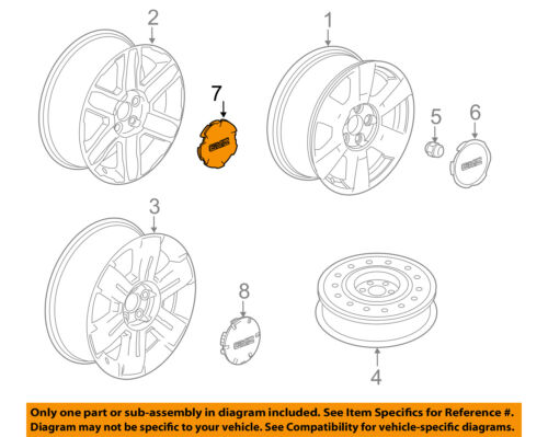 1 Cadillac GM Factory OEM Center Wheel Lug Dust Hub Cap Rim Cover Stock Lot BX