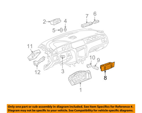 Details About Buick GM OEM LaCrosse Climate Control Unit Temperature Fan Heater A C 25845880