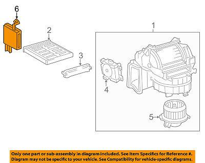 Lexus TOYOTA OEM ES300h Air Conditioner-Amplifier Control Module 8865033B40