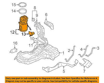 AUDI OEM 05-09 A4-Fuel Pump 8E0919051CN