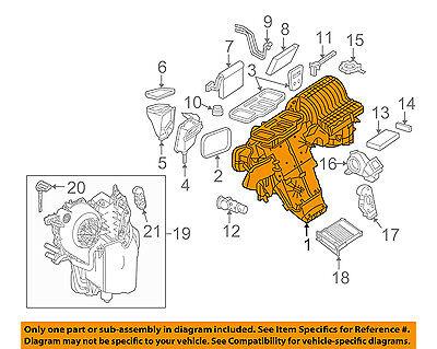 Mercedes MERCEDES-BENZ OEM 06-10 R350 3.5L-V6-A/C AC Evaporator Core 2518340561
