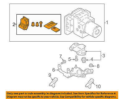 AUDI OEM 2017 Q7 ABS Anti-Lock Brake System-Repair Kit 4M0907379RREP Anti Lock Brake Repair