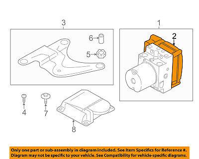BMW OEM 2012 535i xDrive ABS Anti-Lock Brake System-Repair Kit 34506854043 Anti Lock Brake Repair