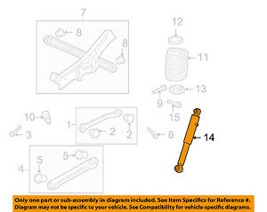 GM-OEM-Rear-Suspension-Shock-Left-19300070