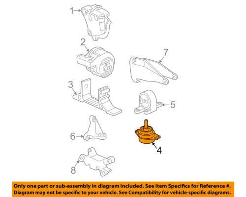 Details About Saturn GM OEM 04 07 Vue Automatic Transmission Mount 15801384