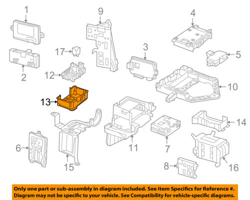 Details About MERCEDES OEM 15 18 C300 Electrical Fuse Relay Box Bracket 2055400840