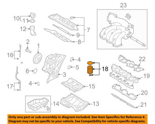 KIA OEM 06-10 Sedona Engine-Oil Filter 263203C100   eBayeBay