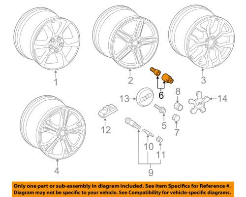 AUDI OEM 14-15 R8 Wheel-Wheel Lug Bolt 4F0698139B818