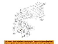 Omix-Ada 12032.02 Hood Prop Rod Clip