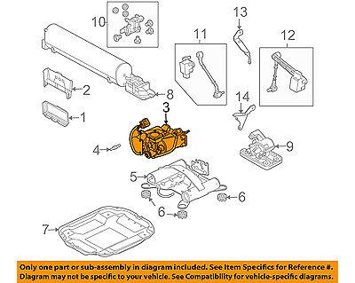 LAND ROVER OEM 06-12 Range Rover Ride Control Shock-Rear Air Compressor LR041777