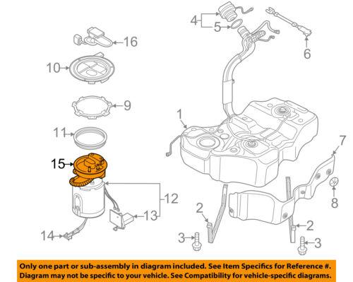 vw volkswagen oem 2006-2010 passat-fuel filter 3c0919679a