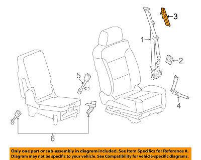 GM OEM Front Seat Belt-Height Adjuster 13519683