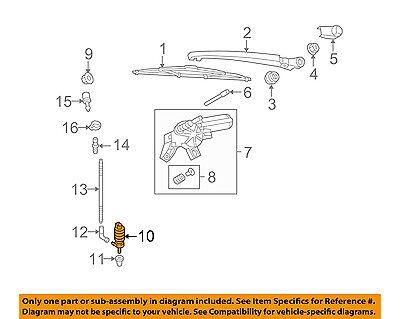 AUDI OEM 98-11 A6 Quattro Windhsield Wiper-Washer Fluid Pump 1K6955651