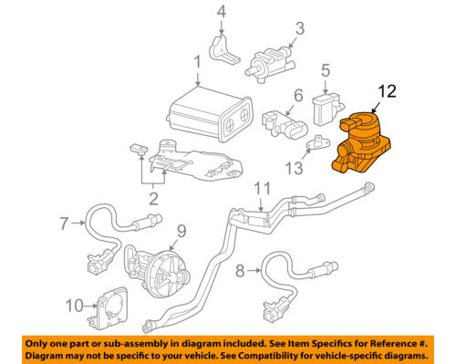 Genuine GM 12619110 Secondary Air Injection Check Valve