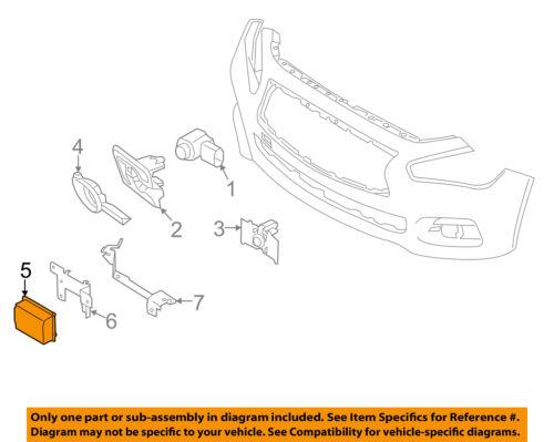 [DIAGRAM_3ER]  NISSAN OEM Cruise Control-Speed Control Sensor 284384GA3B | eBay | Infiniti Cruise Control Diagram |  | eBay